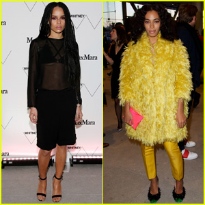 Zoe Kravitz Stuns in Max Mara at Whitney Museum Dinner in NYC
