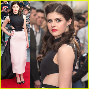 Alexandra Daddario Gets Edgy For 'San Andreas' World Premiere in London