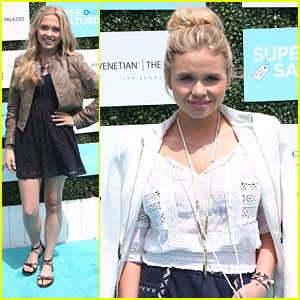 Alli Simpson & Lauren Taylor Step Out For OCRF's Super Saturday