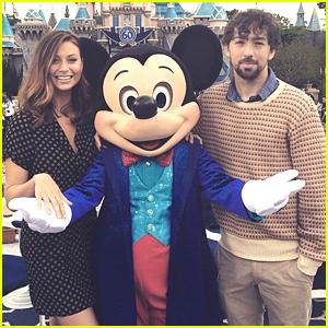 Aly Michalka & Fiance Stephen Ringer Celebrate 60 Years Of DisneyLand