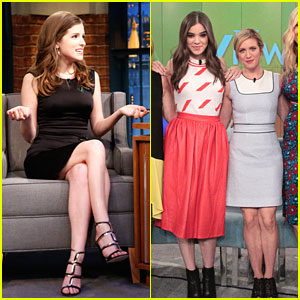 Anna Kendrick, Brittany Snow & Hailee Steinfeld Keep Promoting 'Pitch Perfect 2' In New York City