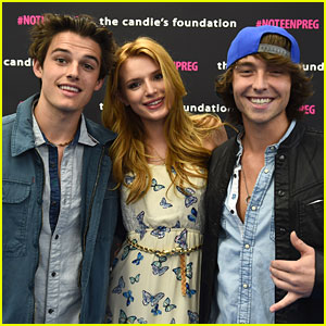 Bella Thorne & Wesley Stromberg Speak Out About National Teen Pregnancy Prevention With Candie's Foundation