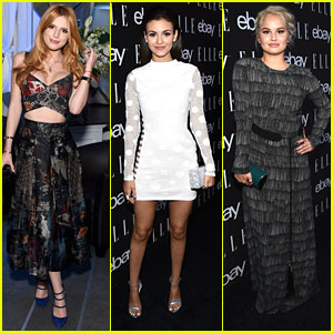 Bella Thorne & Victoria Justice Join Debby Ryan At Elle's Women In Music Event