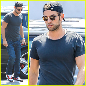 Chace Crawford Grabs Lunch At Hugo's After Mexican Memorial Day Weekend