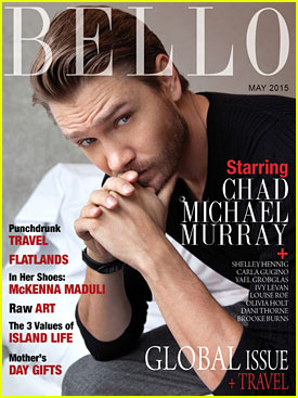 Chad Michael Murray Dreams Of Being on 'The Big Bang Theory'