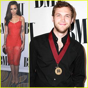 Cher Lloyd Runs Into Niall Horan at BMI Awards in Los Angeles