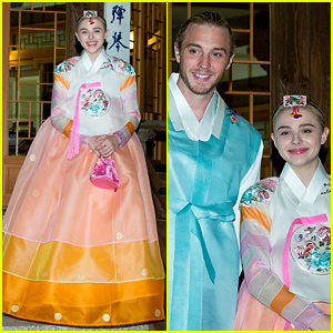 Chloe Moretz Wears a HanBok in South Korea!