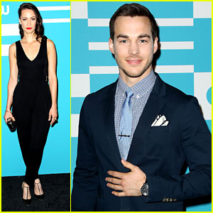 Chris Wood & 'Containment' Cast Hit Up CW Upfronts In New York City
