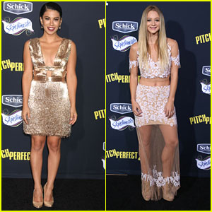 Mollee Gray Supports Chrissie Fit At 'Pitch Perfect 2' Premiere