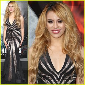 Fifth Harmony's Dinah Hansen Stuns At 'San Andreas' Premiere