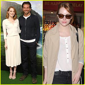 Emma Stone & Bradley Cooper Bring 'Aloha' to London!