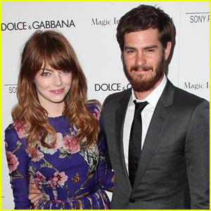 Emma Stone & Andrew Garfield Seen Holding Hands! (Report)