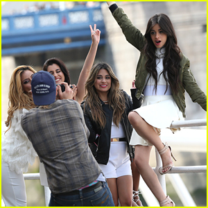 Fifth Harmony Take Over London & Go Sight-Seeing - See The Pics!
