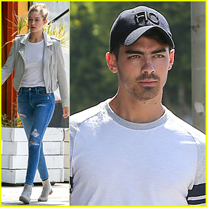 Gigi Hadid Steps Out With Joe Jonas Following Split From Cody Simpson