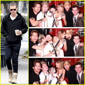 Taylor Swift Parties With One Direction - Minus Harry Styles!