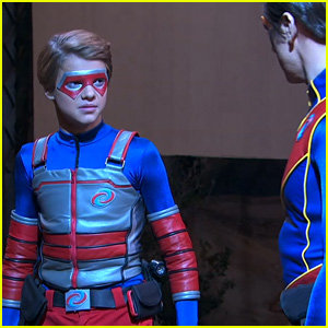 Kid Danger & Captain Man Don't See Eye to Eye in New 'Henry Danger' Clip (Exclusive)