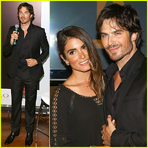 Ian Somerhalder & Nikki Reed Hit First Public Appearance After Wedding