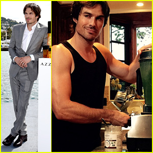 Ian Somerhalder Suits Up for Solo Cannes Appearance