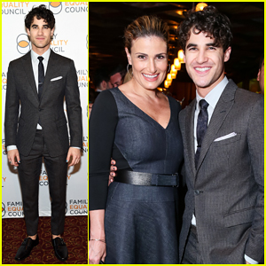 Idina Menzel Shows Her Support for Darren Criss at 'Hedwig' Celebration!