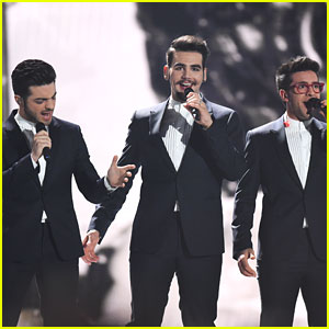 Il Volo Rehearse For Eurovision Song Contest In Vienna