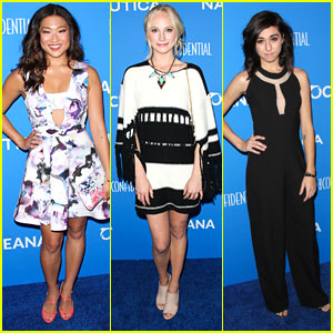 Jenna Ushkowitz Has A 'Glee' Reunion at Nautica's Oceana Beach House Party - See The Pics!