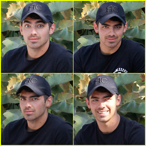 Joe Jonas Makes Funny Faces for the Camera