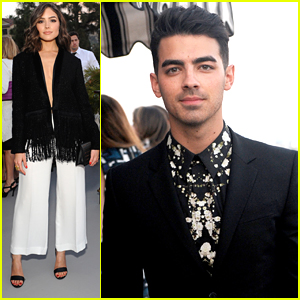 Joe Jonas & Olivia Culpo Celebrate Success With Glamour Mag