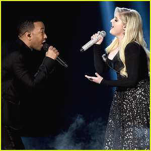 Meghan Trainor Performs with John Legend at Billboard Music Awards 2015 (Video)