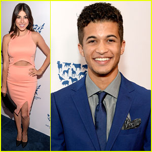 Jordan Fisher & Daniella Monet Hit Up Humane Society Benefit Gala in Los Angeles