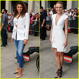 Jordin Sparks & Danielle Bradbery Are White Hot at Indy 500
