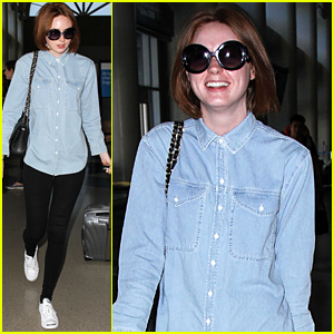 Karen Gillan Chats About Doctor Who's Amy & Rory's Love Story With Nine-Year-Old Reporter