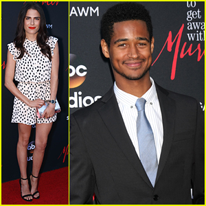 Alfie Enoch & Karla Souza Tease 'How To Get Away With Murder' Season Two at ATAS Event