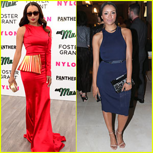 Kat Graham & Alexis Knapp Step Out For 'Muse' Premiere Party in Cannes