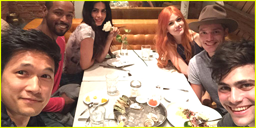 Katherine McNamara & Harry Shum, Jr. Host 'Shadowhunters' Cast Dinner in Toronto