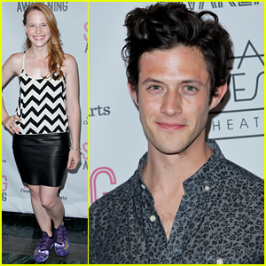 Katie Leclerc & Stitchers' Kyle Harris Check Out Deaf West Theatre's 'Spring Awakening'
