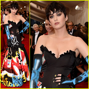 Katy Perry is Moschino's Muse at Met Gala 2015