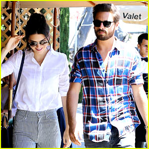 Kendall Jenner Lunches with Scott Disick
