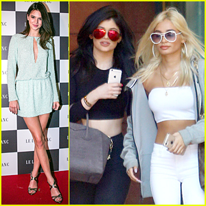 Kendall Jenner Turns Heads at Le Lis Blanc Winter Collection Party