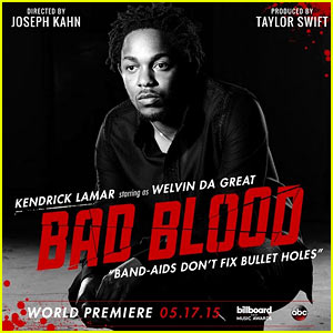 Taylor Swift Recruits a Hot Rapper for 'Bad Blood' Video!