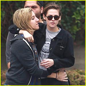 Kristen Stewart & Alicia Cargile Get Up Close & Personal on Memorial Day