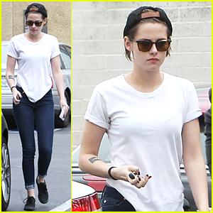Kristen Stewart Heads Back to Hollywood Following Korea Fashion Show