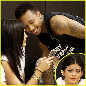 Kylie Jenner Attends Boyfriend Tyga's Basketball Game Ahead of Sister Kim Kardashian's Pregnancy Reveal