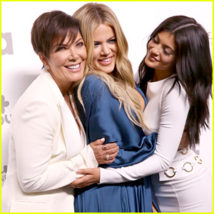 Kylie Jenner Attends NBC Upfront With Mom Kris & Sister Khloe Kardashian