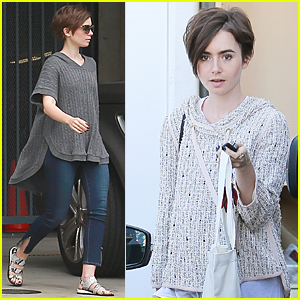 Lily Collins Encourages People to Live the High Life Sometimes
