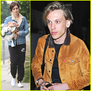 Jamie Campbell Bower Posts Sweet Tweet After Getting Back Together With Lily Collins