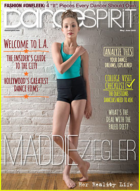Maddie Ziegler To 'Dance Spirit' Mag: I Feel Like 'Hannah Montana'