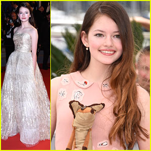 Mackenzie Foy Becomes A 'Little Prince'ss At Cannes Film Festival