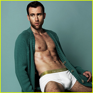 Harry Potter's Matthew Lewis Goes Shirtless In His Underwear for 'Attitude'