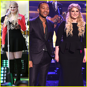 Meghan Trainor Hits The Stage With John Legend On 'The Tonight Show' - Watch Here!
