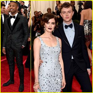 Michael B Jordan Suits Up For Met Gala 2015!